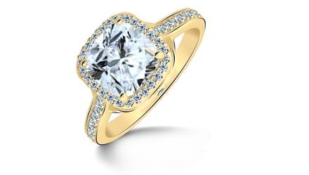 Queen of Diamonds Ring Mount