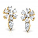 Bell Flower Stud Earrings