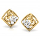 Dazzle Diamond Stud Earrings
