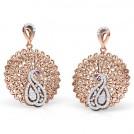 Elegance Trellis Drop Earrings