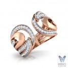 Crescent Fashion Ring