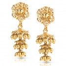 Oro Corona Drop Earrings