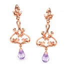 Ethereal Filigree Drop Earrings