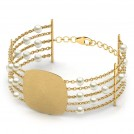 Joana Stamped Bracelet