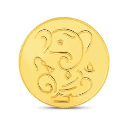 5gm, 22Kt Lucky Ganesha Gold Coin