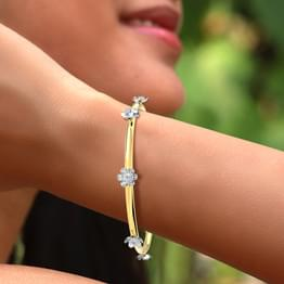 Golden Amalgamation Bangle