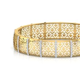 Fabia Cutwork  Bangle