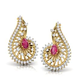 Komal Tear-Drop Earrings