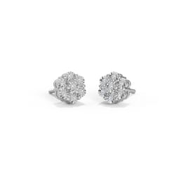Rowena Seven Stone Stud Earrings