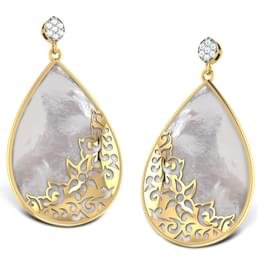 Sirius Mother of Pearl Earrings