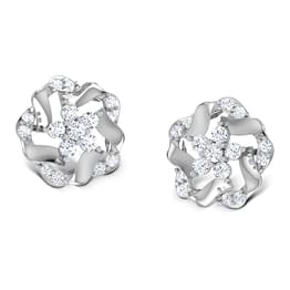 Geranium Platinum Earrings