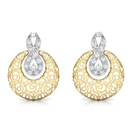 Penelope Trellis Diamond Earrings