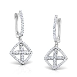 Albay Diamond Petalled Earrings