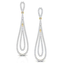 Elena Oscillate Drop Earrings