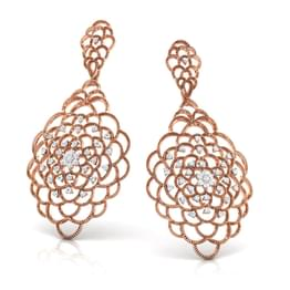 Rumi Ruffle Drop Earrings