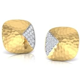 Gemma Hammered Stud Earrings