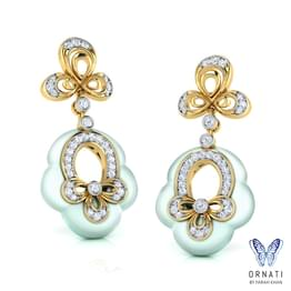 Cyndy Floret Drop Earrings