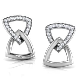 Belinda Clasped Stud Earrings