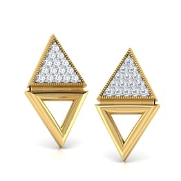 Debora Pyramid Stud Earrings