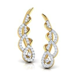 Cacia Twisted Ear Cuffs
