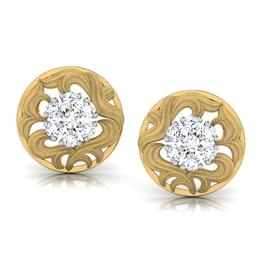 Cluster Bloom Stud Earrings