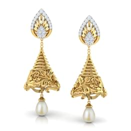 Conical Drop Multi-Style Jhumkas