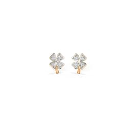 Clover Multi Pierced Diamond Earrings