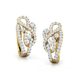 Joana Twine Hoop Earrings