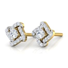 Charm Curves Stud Earrings