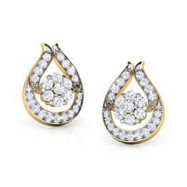 Clutch Drop Stud Earrings
