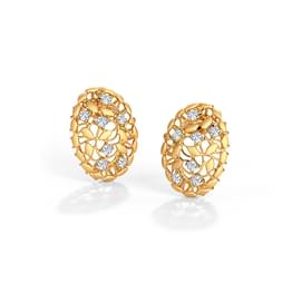 Ber Root Stud Earrings