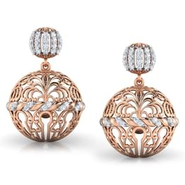 Filigree Dome Jhumkas