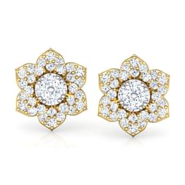 Bellum Flower Stud Earrings