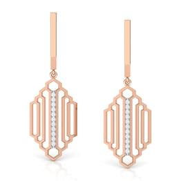Regal Stepped Drop Earrings