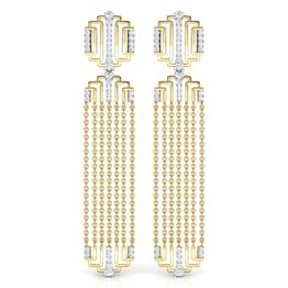 Liberty Linear Drop Earrings