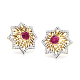 Amer Fountain Stud Earrings