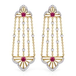 Samode Arch Drop Earrings
