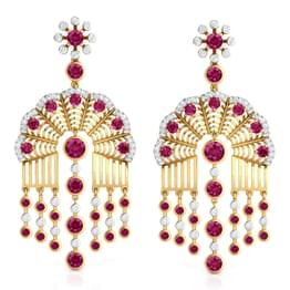 Rambagh Arch Drop Earrings