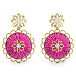 Rambagh Dome Drop Earrings