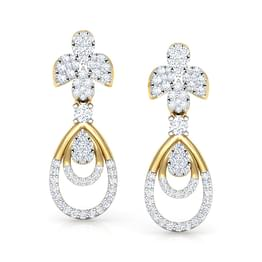 Classic Clutch Drop Earrings