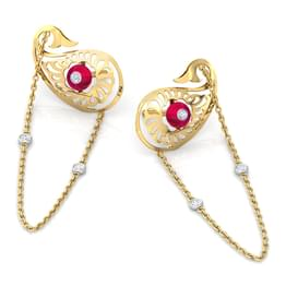 Charming Paisley Drop Earrings