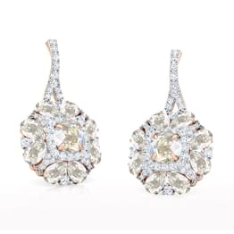 Yasmin Floret Drop Earrings