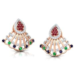 Advika Vibrant Drop Earrings
