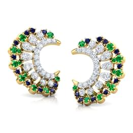 Anika Vibrant Stud Earrings
