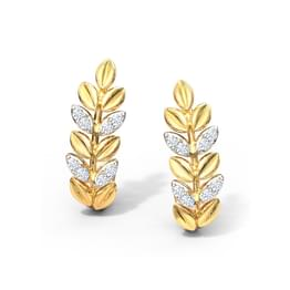 Sway Fern Stud Earrings