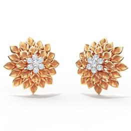 Dahlia Stud Earrings