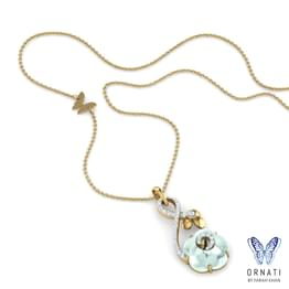 Iva Moonstone Necklace