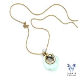 Fawn Moonstone Necklace