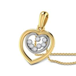 Heart in Heart Pendant