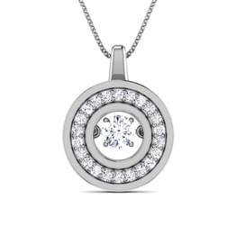 Colette Heartbeat Diamond Pendant